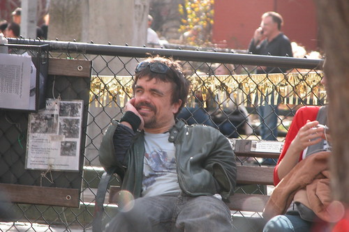 Peter Dinklage at the dog park | by KJunk