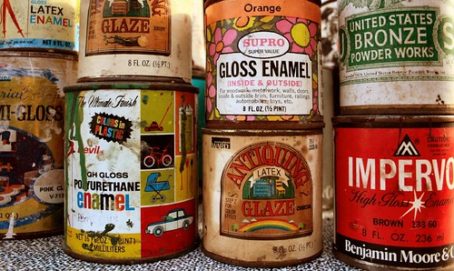 Vintage Paint Cans 015 | by Bree Bailey