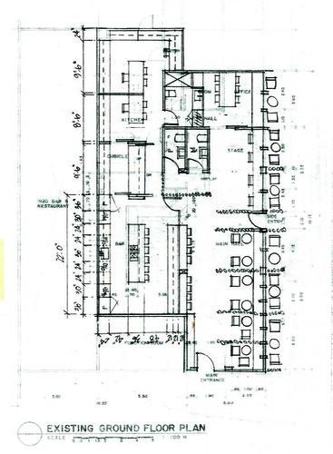 D Cafe Floor Plan Rev 5 Renovation Proposal Internet