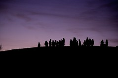 Comet watching on Primrose Hill | by davehodg