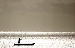 Lonely Fisherman (Explored) | by EricK_1968