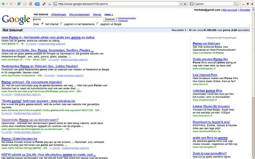 trends google porno