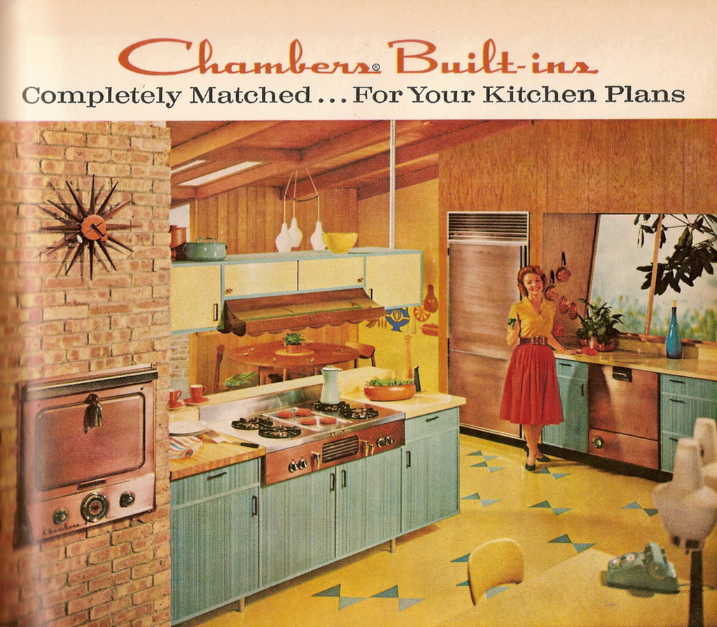 Chambers Kitchens Back Then Were So Happy J L