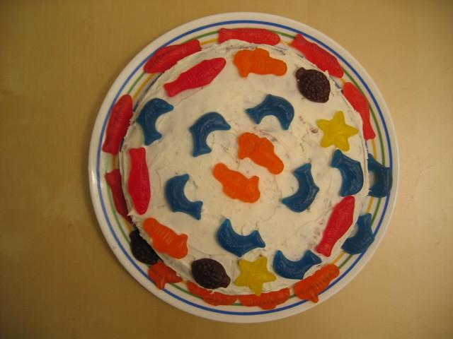 Swedish Fish Aqua Life Birthday Cake Flickr Photo Sharing