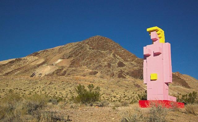 The desert naked in Woman