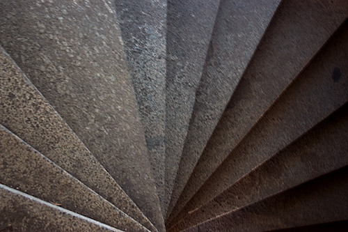 Staircase Inside Ft Mason Spiral Stair Case Within The