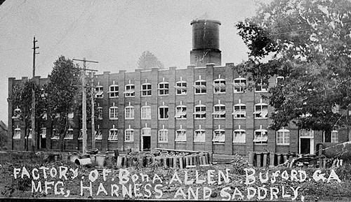 1920s Bona Allen Harness And Saddle Factory Buford Ga