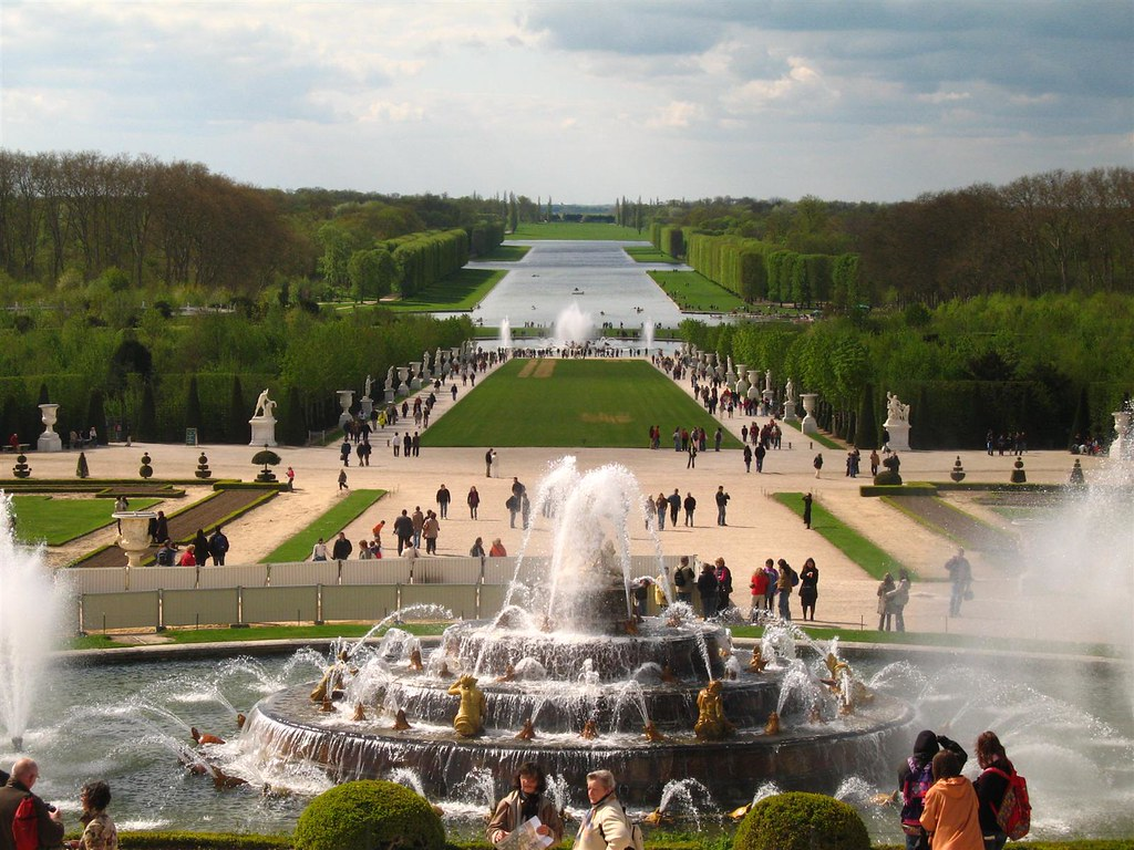 Ch teau de versailles grand canal and fountain of latona flickr - Photo chateau de versailles ...