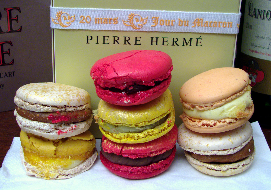 pierre herm le jour du macaron 20 mars 2007 macaron. Black Bedroom Furniture Sets. Home Design Ideas