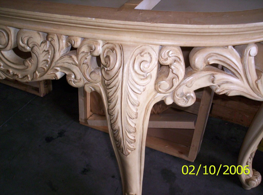 Hawaii House - Hallway Marble Console table closeup  | Flickr