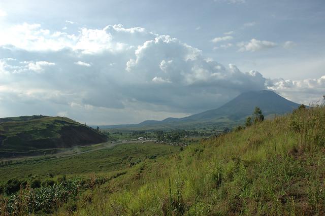 Hills above Goma