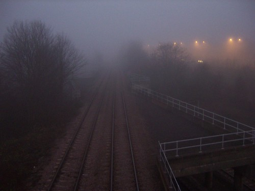 Colindale in Fog | by Loz Flowers