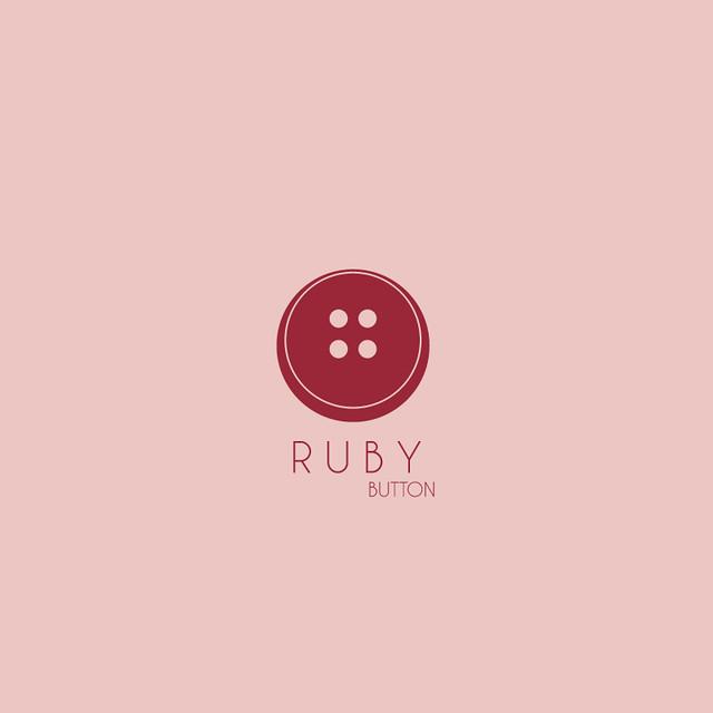Button Logo Ruby Button Logo Design