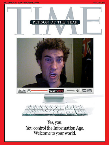 time magazine person of the year 2006 hah way to go