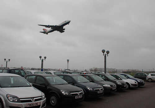 Collecting the rental car, Heathrow, 3 January 2007 | by PhillipC