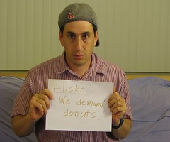 Flickr: We demand donuts by jakerome