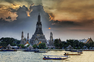 Wat Arun at Sunset | by Stuck in Customs