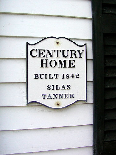 Tanner Home Century Plaque Century Home Plaque On Home