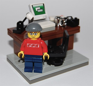 Lego Blogger Picture | by minifig