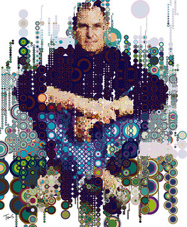 Steve on Circles I (raining colors) | by tsevis
