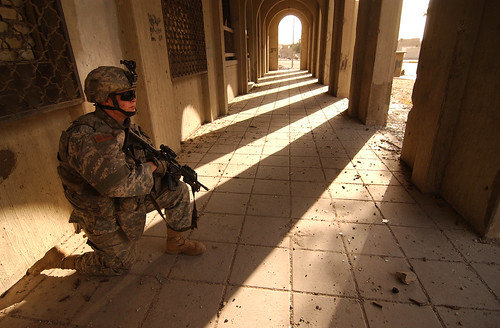 Standing Watch in the Shadows | by The U.S. Army