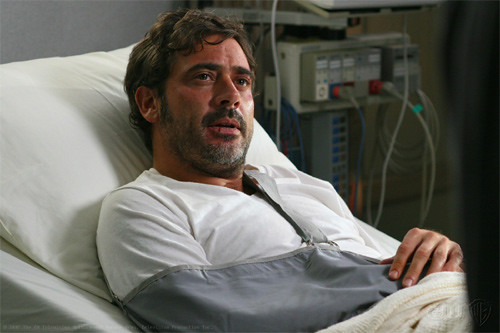 Jeffrey Dean Morgan as John Winchester | Jeffrey Dean ...