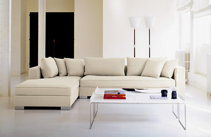 ligne roset rive gauche sectional featured on. Black Bedroom Furniture Sets. Home Design Ideas