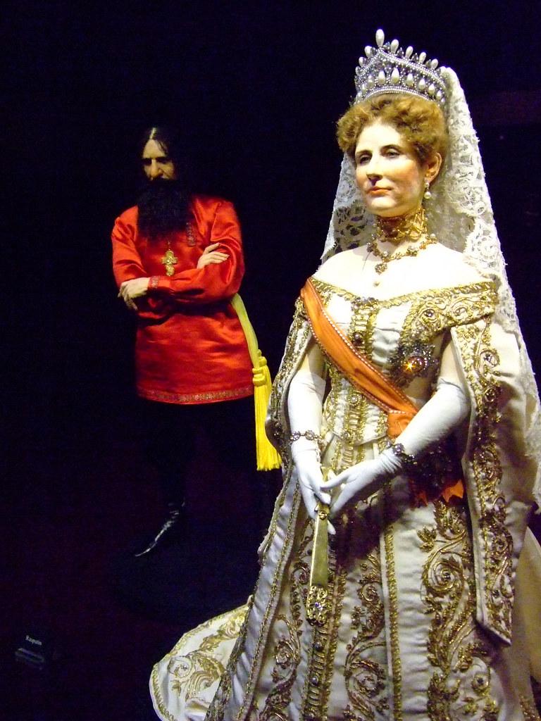 Historical Portrait Figure of Tsarina Alexandra of Russia ...