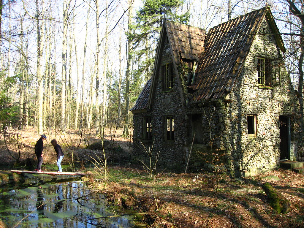 Stone House In The Forrest Of Denmark