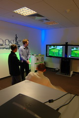 Wii Golf at the Google Moscow office | by Alex Minza