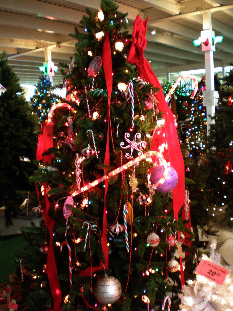 artificial christmas trees at menards best images