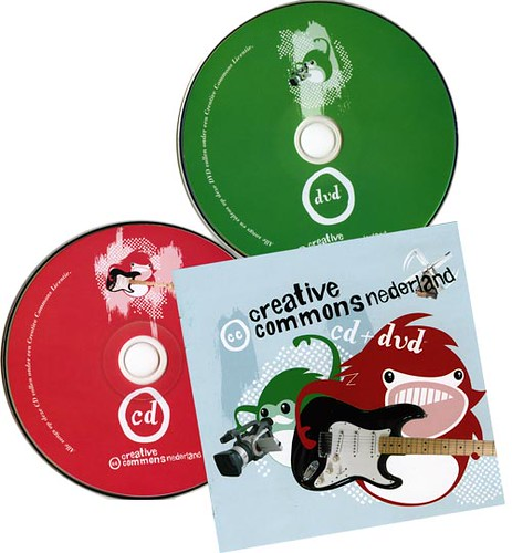Creative Commons Netherlands release their first CD+DVD | by Marco Raaphorst