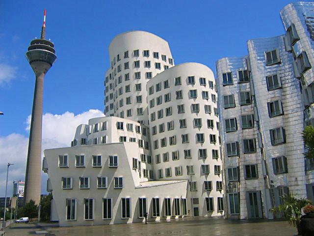 dusseldorf architecture der neue zollhof located in the flickr. Black Bedroom Furniture Sets. Home Design Ideas