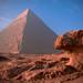 Khafre's Pyramid, Morning Light