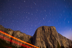 Star Trails and El Capitan, Yosemite Valley, Yosemite National Park, California  2006 | by john oconnor