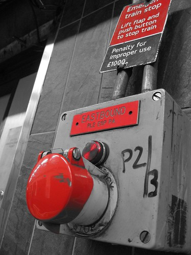 Big Red Button - Oxford Circus | by Luke Robinson