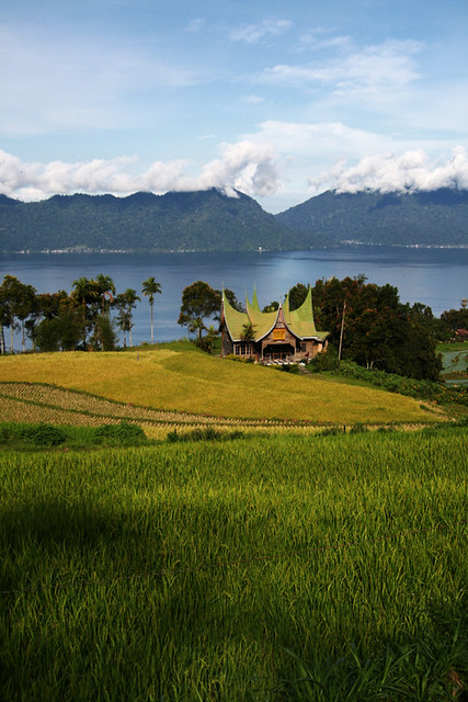 Rumah Gadang On My Way To Lake Maninjau West Sumatra