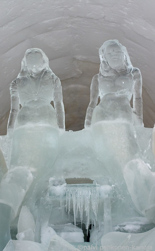 Ice-sculpture gallery in the SnowCastle of Kemi_5 | by kulkuri