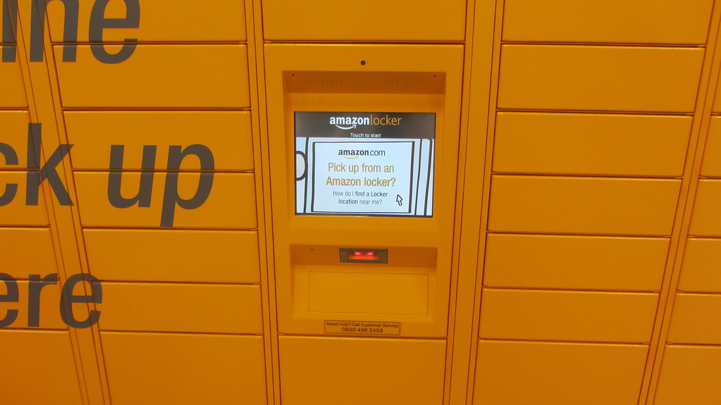 Amazon Lockers Spotted At Local Morrisons Supermarket In G Flickr