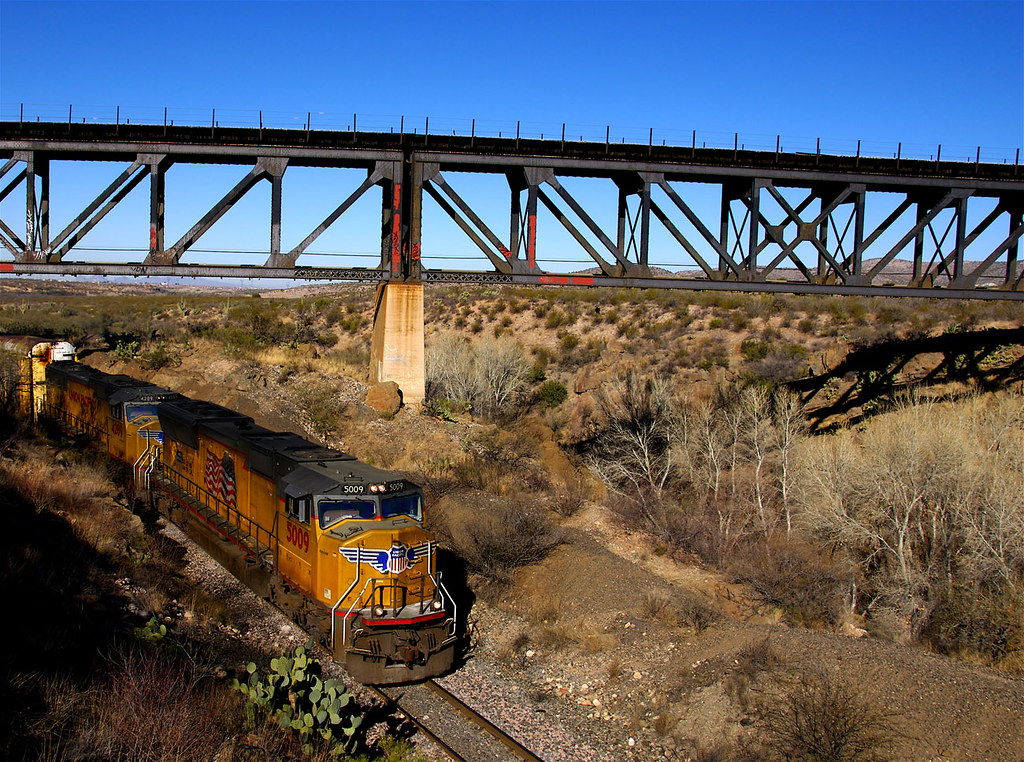 Railfanning, Cienega Creek RR Bridge, Vail, Arizona | Flickr ...
