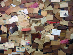 Business card wall | by dground