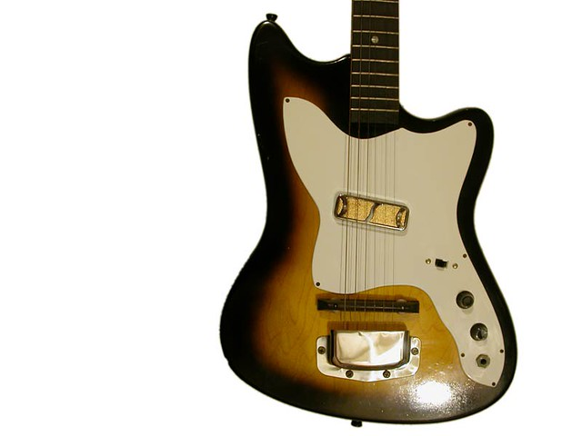 harmony guitar harmony electric guitar bob kat h14 model flickr. Black Bedroom Furniture Sets. Home Design Ideas