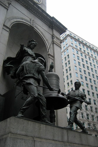 Nyc Herald Square James Gordon Bennett Monument Flickr