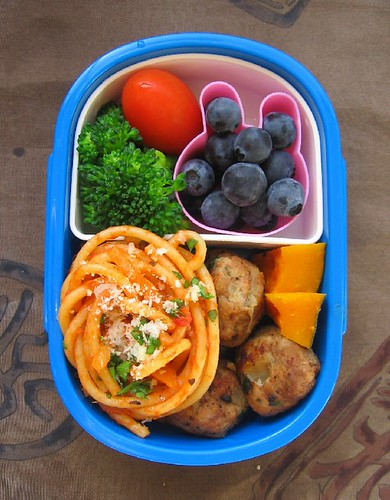 Speedy spaghetti lunch for toddler | by Biggie*