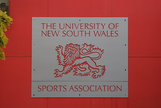 UNSW sports association plate | by alexanderino