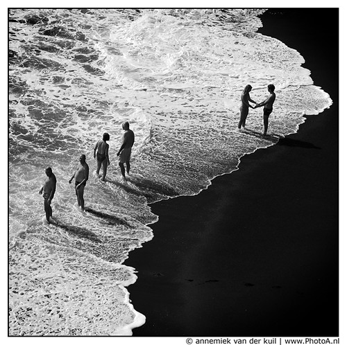 Black White Beach La Palma Annemiek Van Der Kuil Flickr