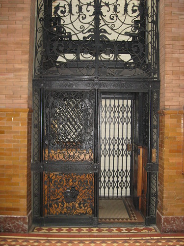 The Bradbury Building - Elevator | by Floyd B. Bariscale