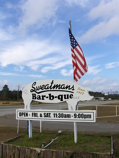 Sweatman's Bar-b-que | by Joe Shlabotnik