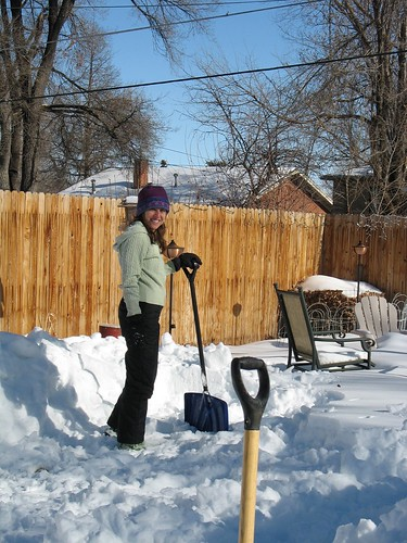how to build a backyard ice rink 1 dig out 3 feet of snow