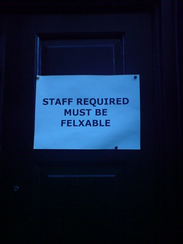 Staff Required | by kenmc